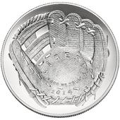 2014 baseball coin obverse