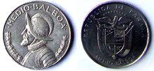 Panama ½ Balboa 2001
