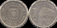 Yugoslav 1 dinar coin