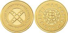 Estonia 100 krooni 2002