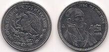 1 peso 1986