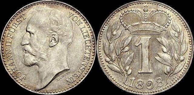 File:Liechtenstein 1 krone 1898.jpg