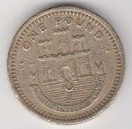 Gibraltar £1