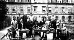Münzstätte Muldenhütten mit den 1891 dort Beschäftigten