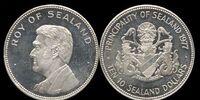 Sealand 10 dollar coin