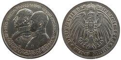 5 Mark Mecklenburg Jahrhundertfeier