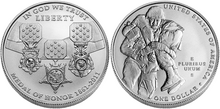 2011 $1 Medal of Honor coin