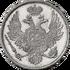 Platinum coin6r 1835