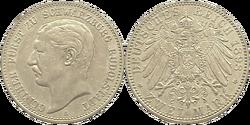 Schwarz.-Rudol. 2 mark 1898