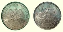 Un Peso Mexico 1913