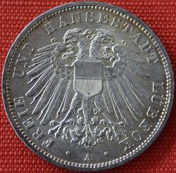 1913 3 Mark Lübeck