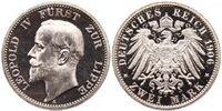 Lippe 2 mark coin
