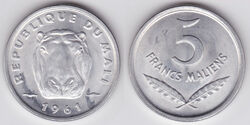 5 Francs Maliens coin