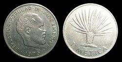 Mozambique metica 1975