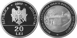 Moldova 20 lei 2009