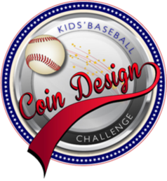 Kid's Baseball Coin Design Challenge logo