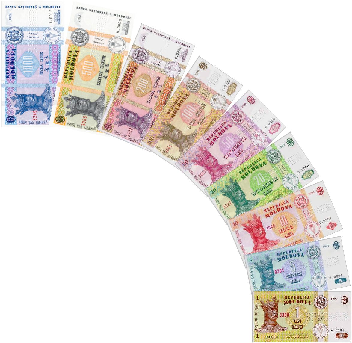 euro leu moldovenesc