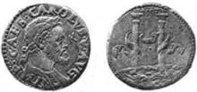 Charles V Milan testone 1552