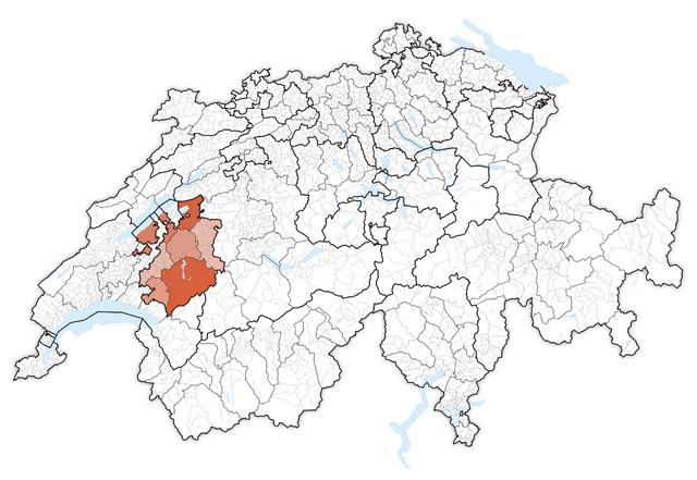 File:Karte Lage Kanton Freiburg 2011.png