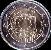 2E Drapeau Lettonie