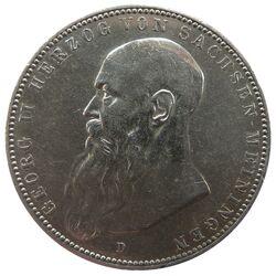 5 Mark Sachsen Meiningen Georg II