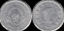 Yugoslavia 1 dinar 1953