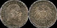 Saxe-Coburg-Gotha 5 mark 1895