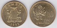 Zambian 10 kwacha coin