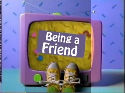 The Being a Friend Title Card