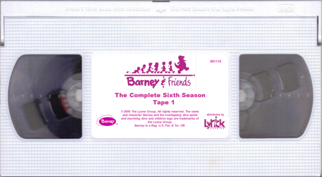File:Barney & Friends The Complete Sixth Season Tape 1.png