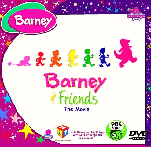 File:The Official (2014) Barney & Friends The Movie Custom Fan-Made Cover.jpg