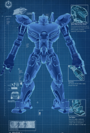 Phalanx Delta PADC blueprint