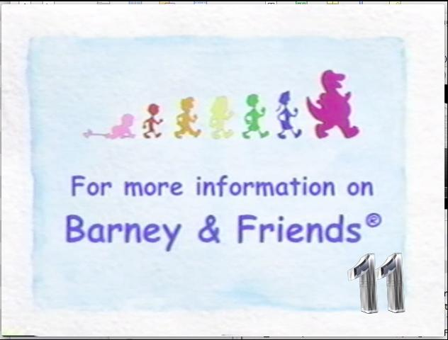 For more information on Barney & Friends