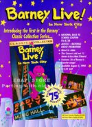 Barney live in new york city promo ad by bestbarneyfan-d65kf99