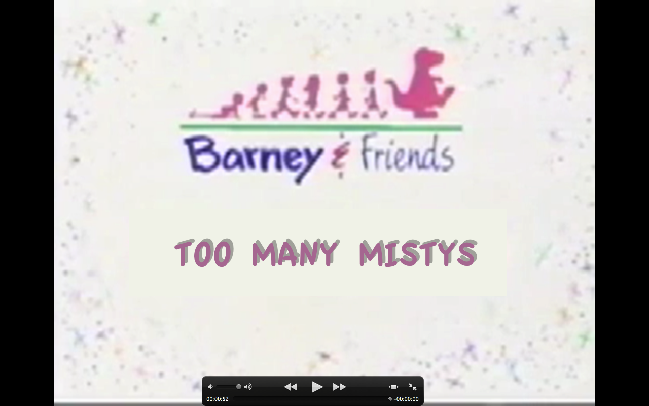 Too Many Mistys Custom Barney Wiki FANDOM Powered By Wikia - Concert barney wiki