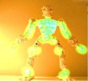 Glowing fool