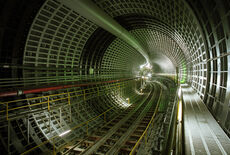 Sub track runner tunnel