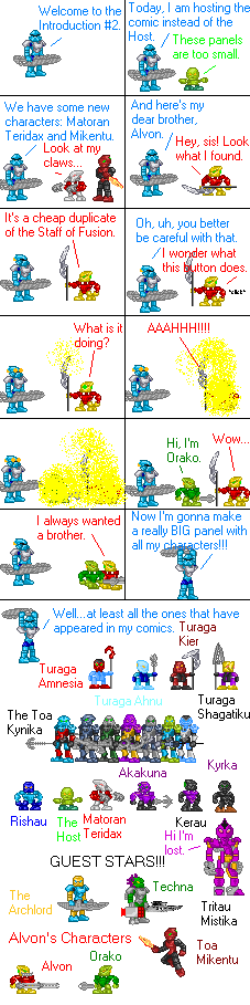 Introduction 2 comic