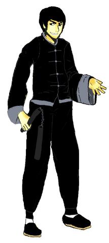 File:Cartooned Bruce Lee.png