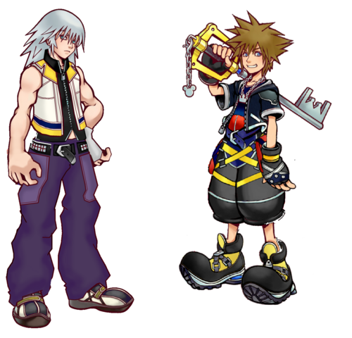 File:Sora & Riku.png