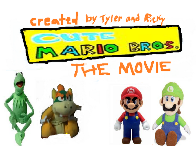 File:Cute Mario bros The Movie logo.png