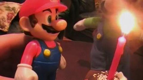 Cute Mario Bros - Mario's Birthday