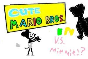 Cute mario bros vs minnie