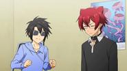 Kei stops Hiroshi