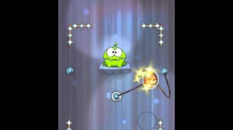 Cut the Rope 4-12 Walkthrough Magic Box
