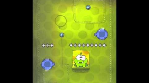 Cut the Rope 2-3 Walkthrough Fabric Box