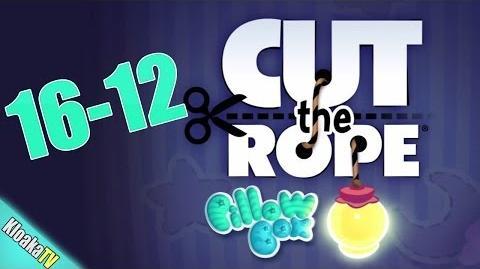 Cut The Rope 16-12 Pillow Box Walkthrough (3 Stars)