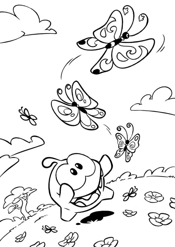 Cut The Rope Coloring Pages Coloring Pages