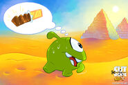 Om nom in the desert by maksim2d-d67srm9