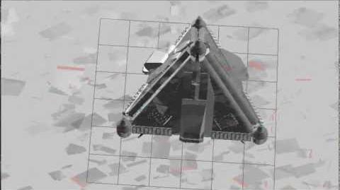 LEGO creation Pyramid UFO